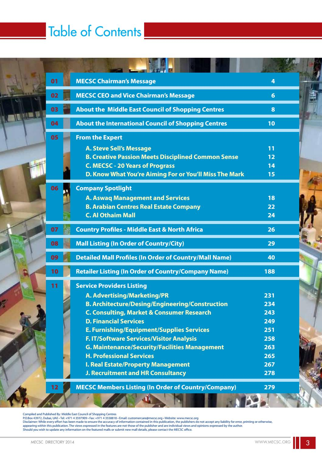 MECSC Directory 2014 by MECSC - issuu