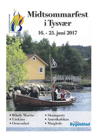 475834c3 Midtsommarfest i Tysvær 16. - 25. juni 2017