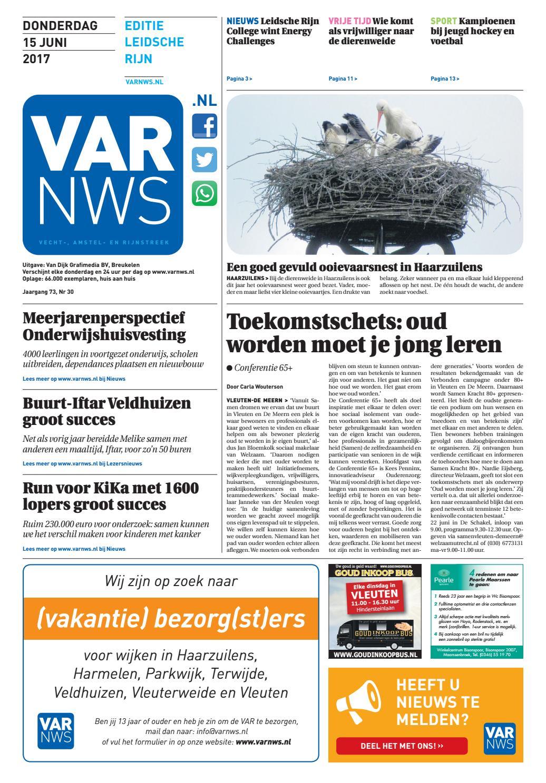 5b74d2689df641 VARnws Leidsche Rijn 15 juni 2017 by VARnws - issuu
