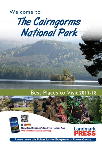Welcome to The Cairngorms National Park 2017-18 by Landmark