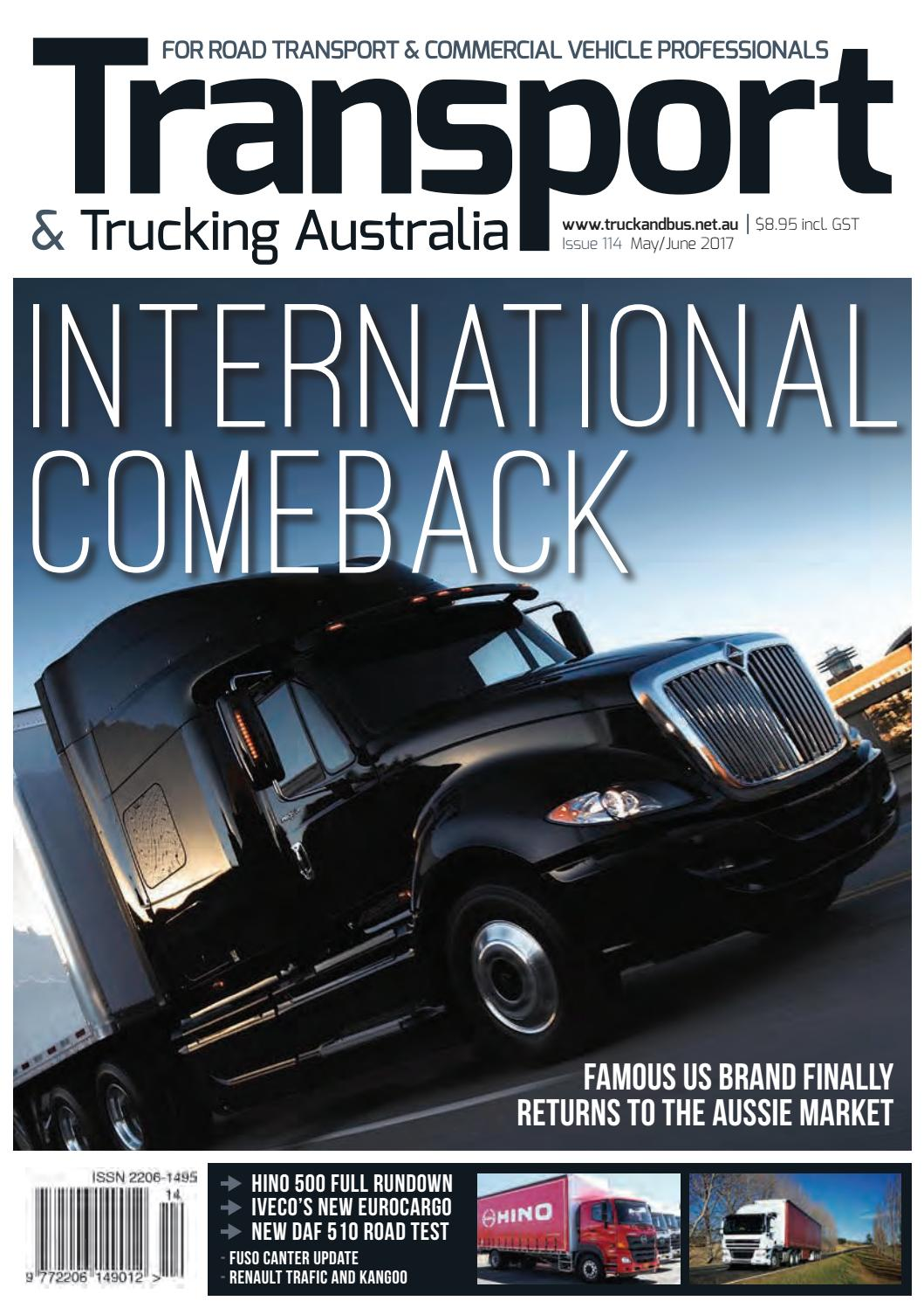 Transport & Trucking Aust issue 114 by Transport Publishing