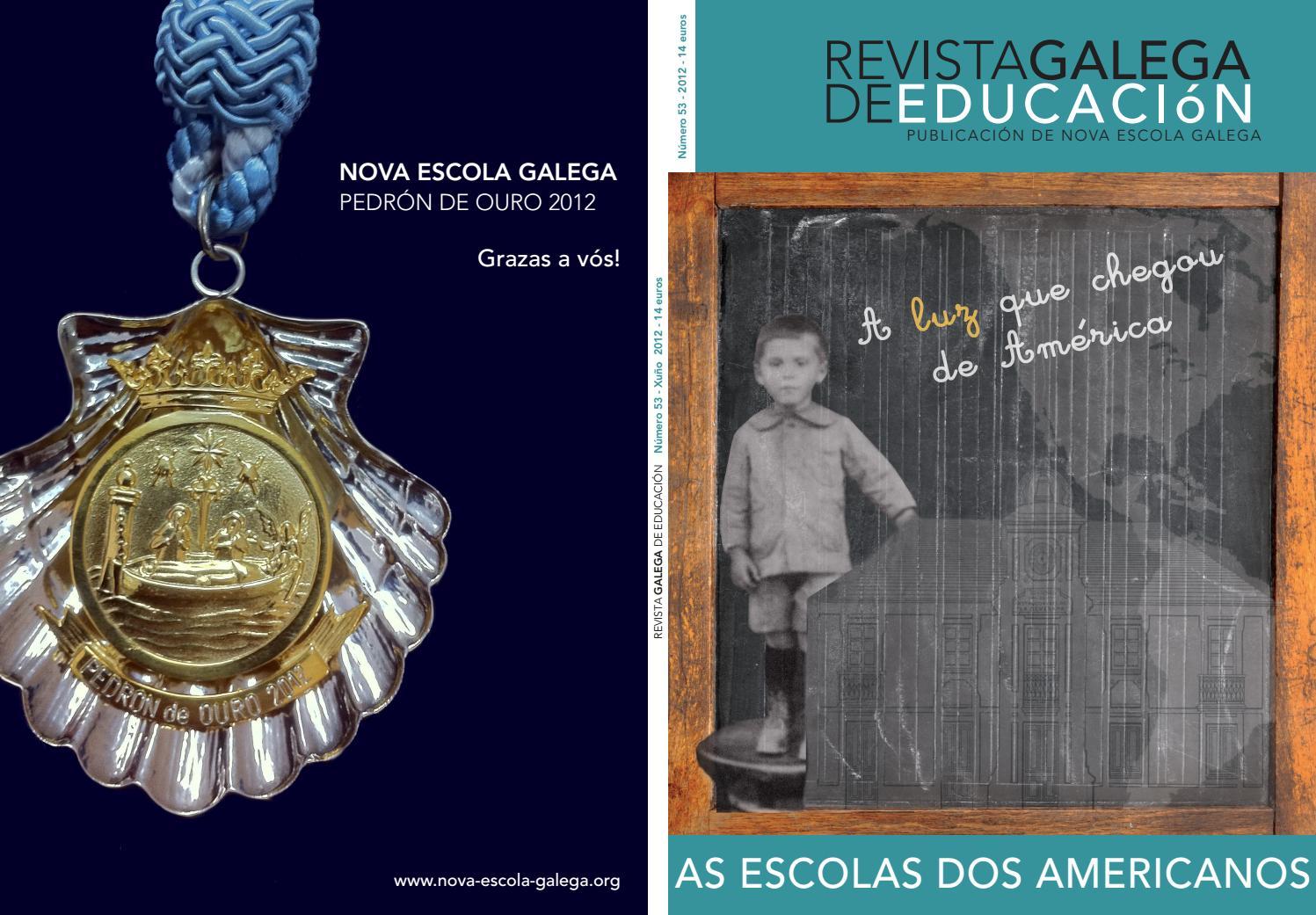 Revista Galega De Educaci N N 53 As Escolas Dos Americanos By  # Muebles Boqueixon