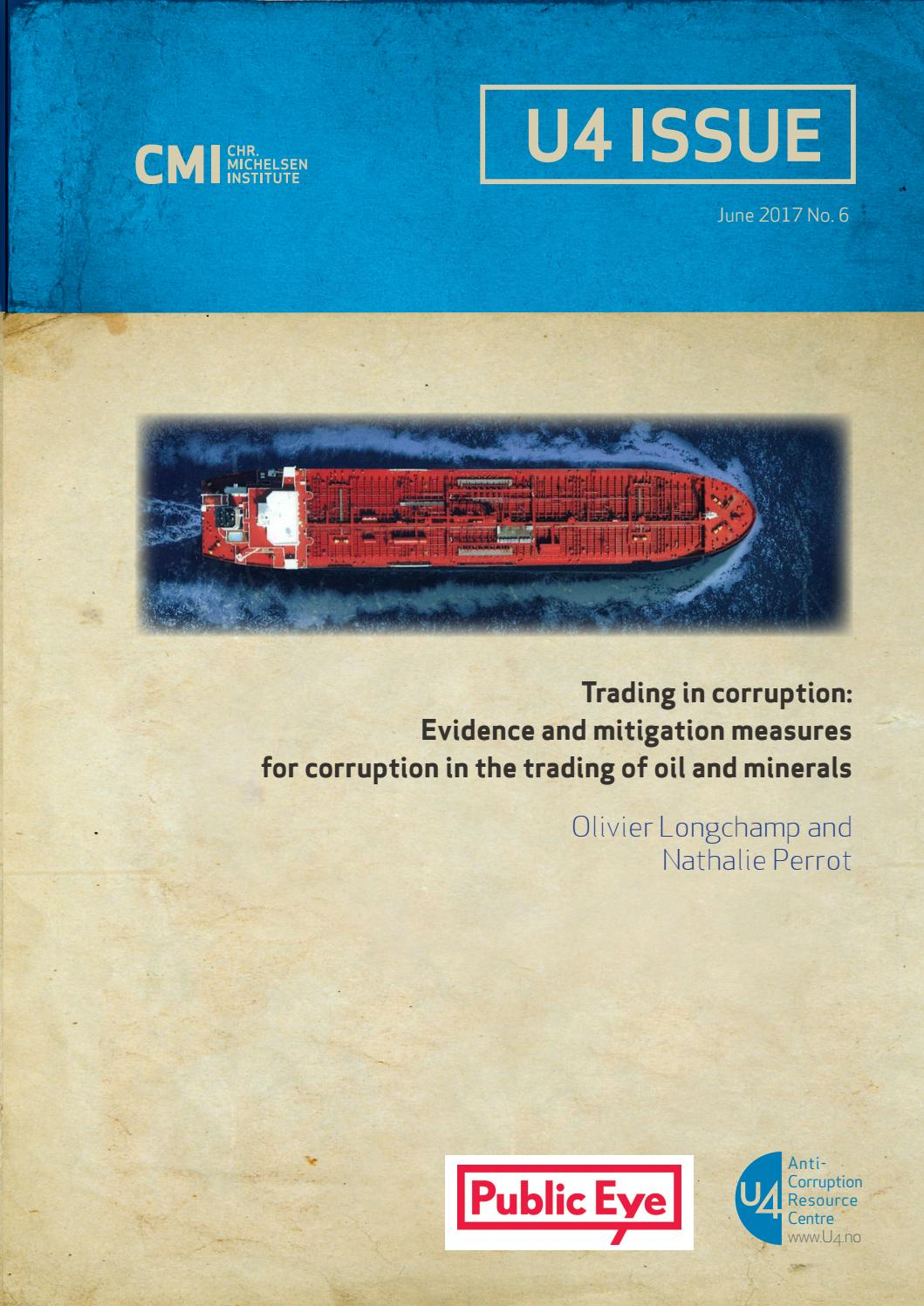 Corruption risks in commodity trading operations by Public