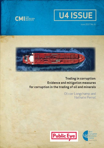 Corruption risks in commodity trading operations by Public Eye - issuu