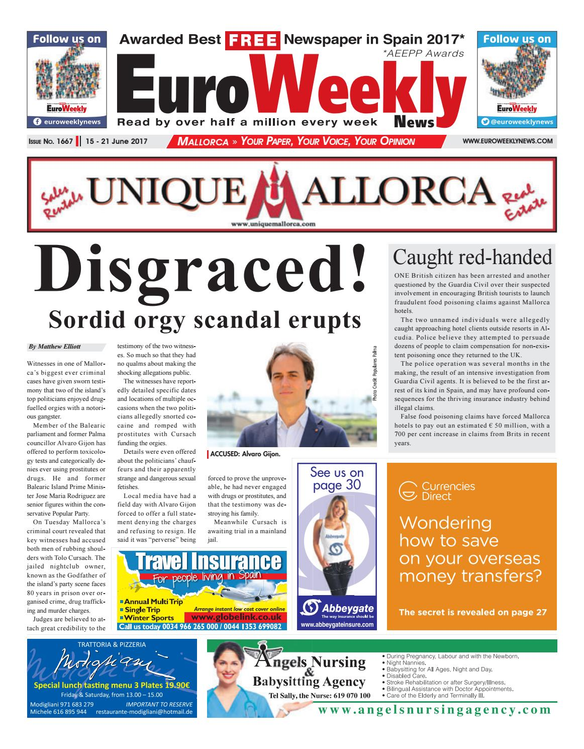 Euro Weekly News - Mallorca 15 - 21 June 2017 Issue 1667 by Euro Weekly  News Media S.A. - issuu 3056856e312