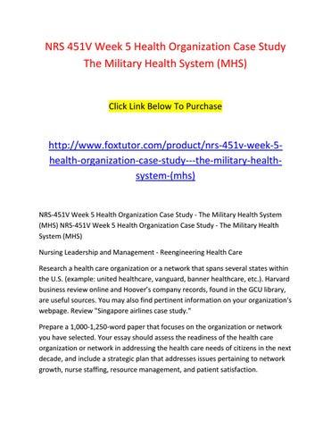 health organization case study banner health