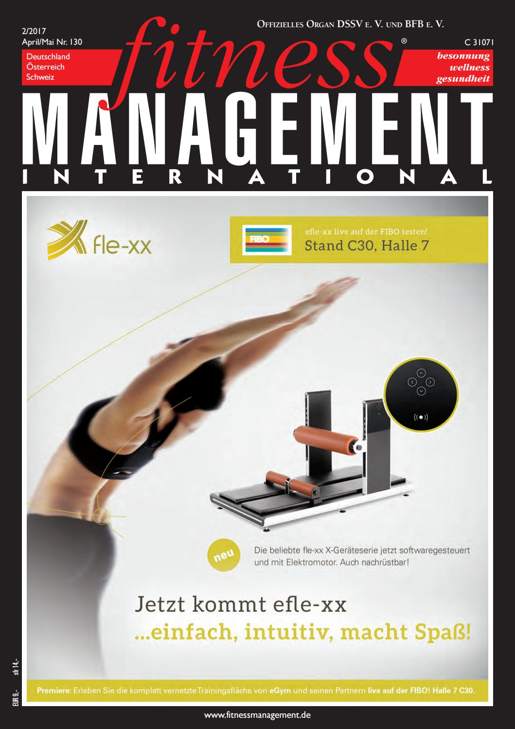 fitness MANAGEMENT international 02/17 by fitness MANAGEMENT ...