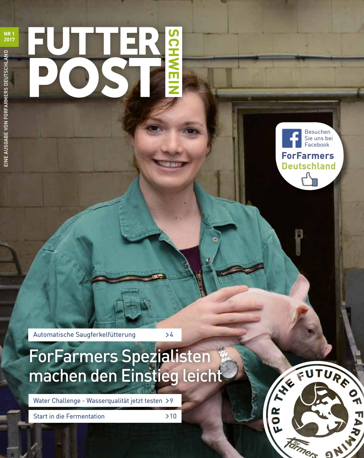 forfarmers futterpost schwein nr 1 2017 by forfarmers issuu. Black Bedroom Furniture Sets. Home Design Ideas