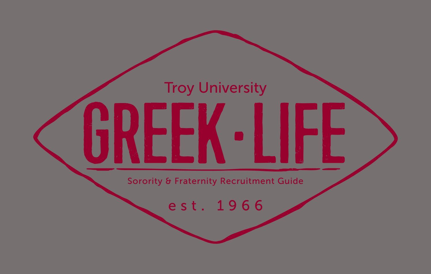 troy university greek life