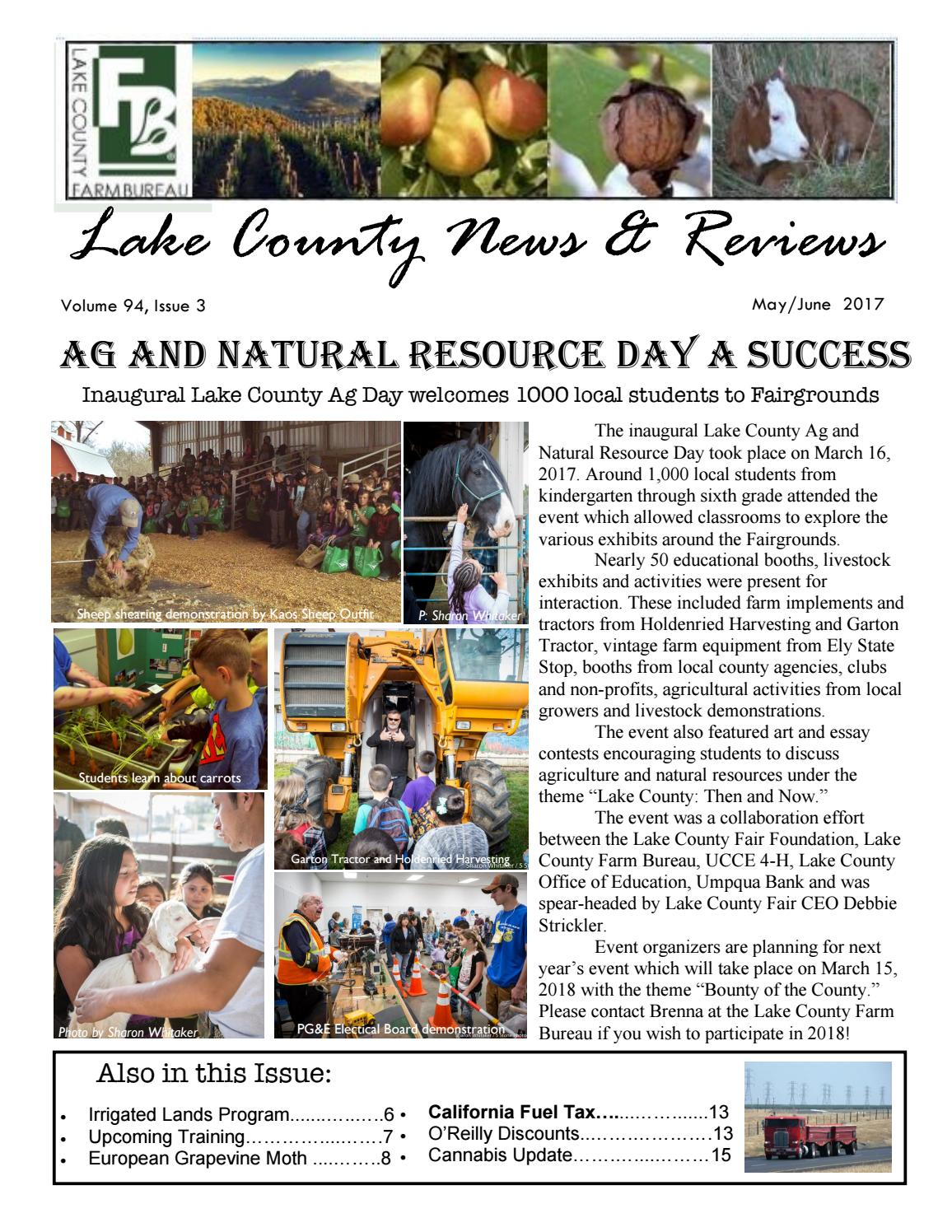 may  june 2017 by lake county farm bureau
