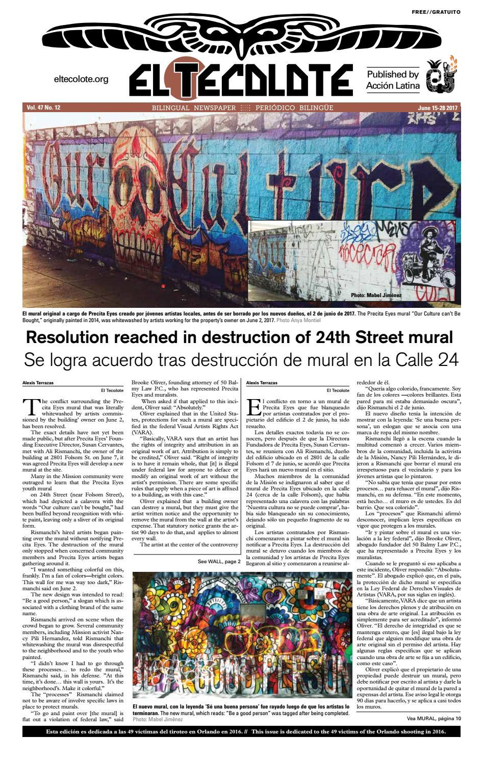 El Tecolote Vol 47 Issue 12 By El Tecolote Issuu