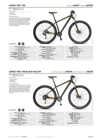 c9d2ca51095 Scott Sports 2018 Bikes & Components Workbook by Mica Sport Canada ...