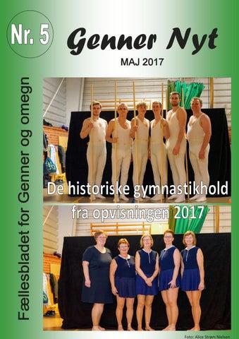 55d6e4f4 Genner nyt 5 - maj 2017 by Kjeld Andresen - issuu