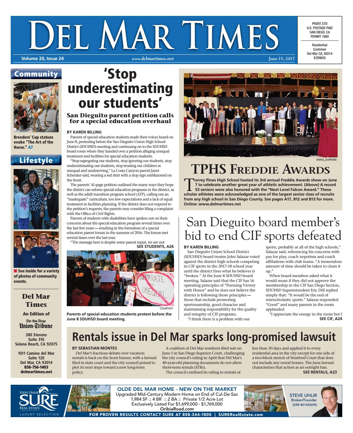 Del Mar Times 06 15 17 by MainStreet Media - issuu