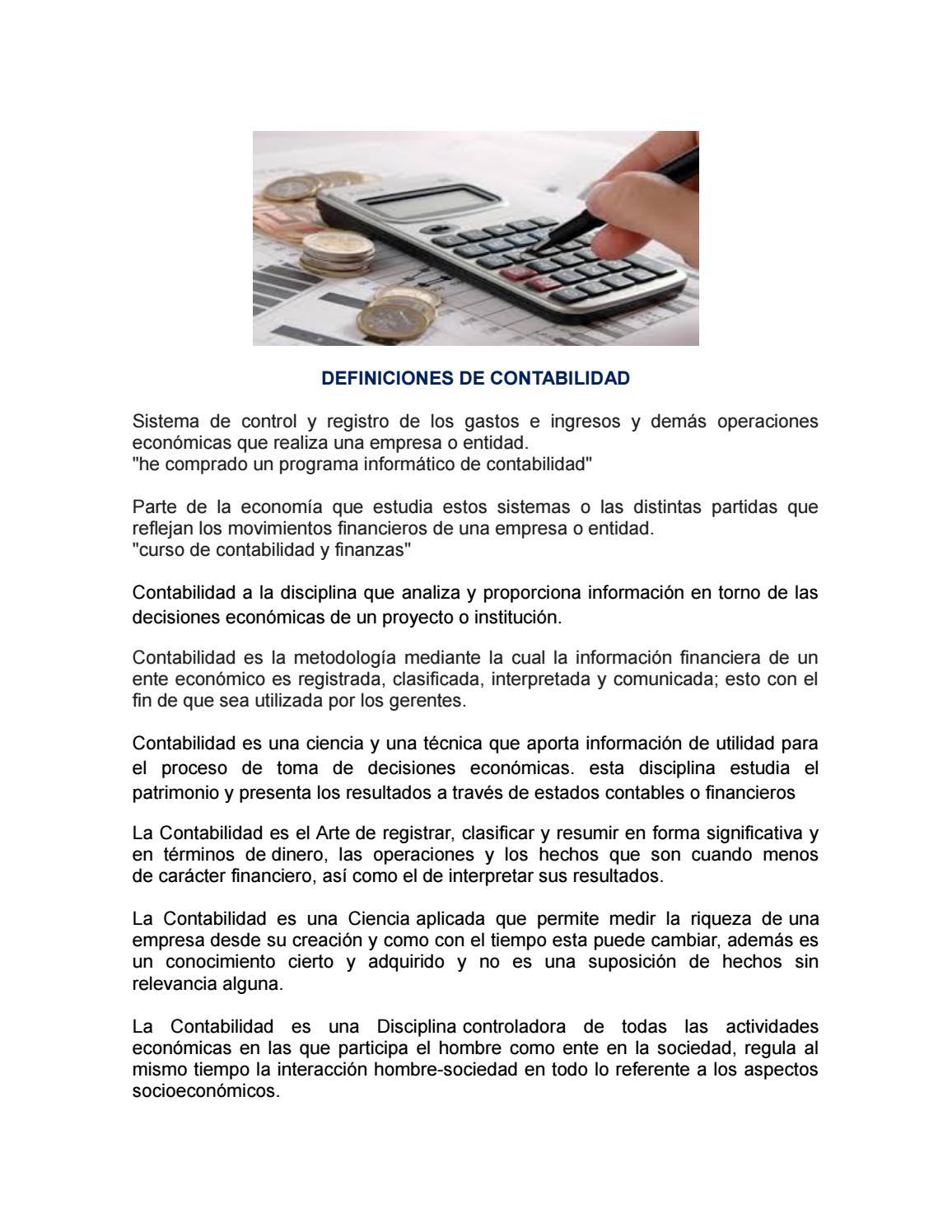 Definiciones de contabilidad by Mahely Villeda - issuu
