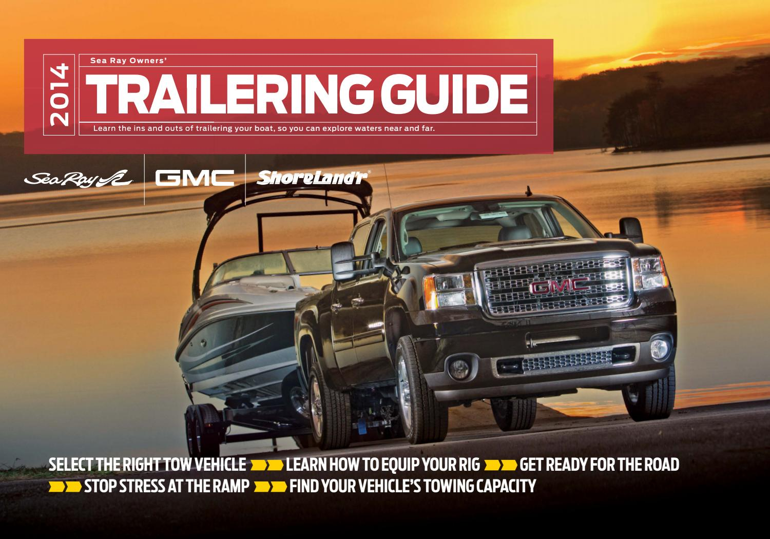 Sea ray gmc trailering guide 2014 by dino publishing issuu publicscrutiny Images