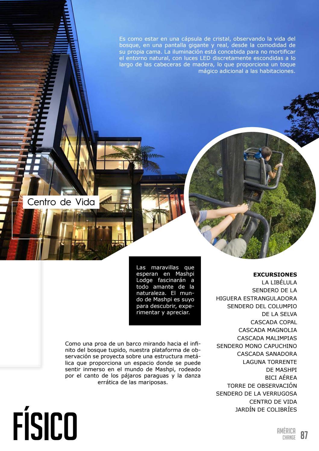 Revista América Change By Revista America Change Issuu