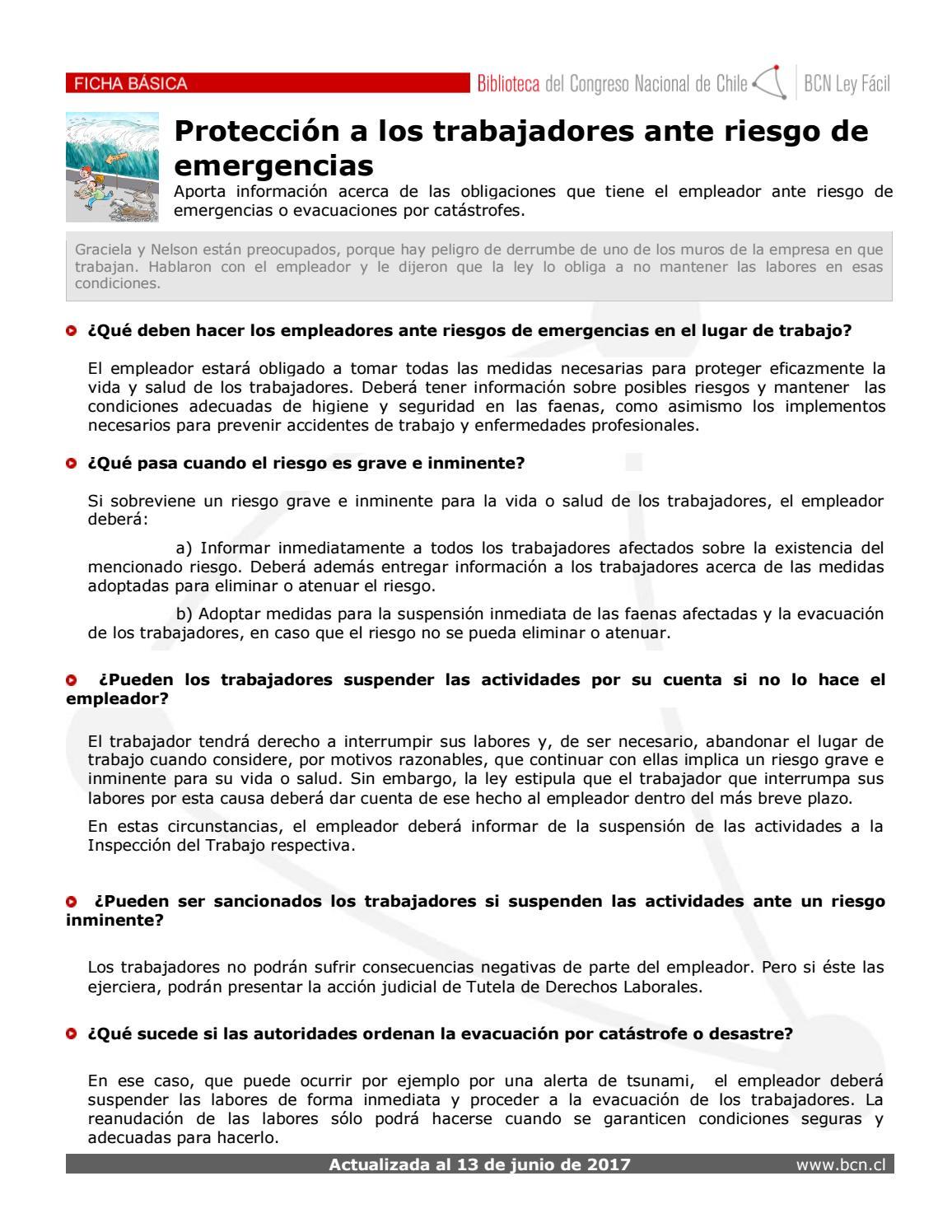 Ficha proteccion trabajadores by PROFESIONALES DEL COBRE - issuu