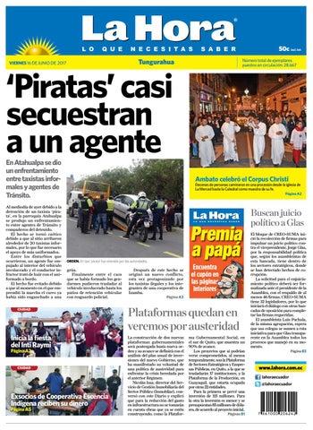 Ambato16junio2017 By Diario La Hora Ecuador Issuu