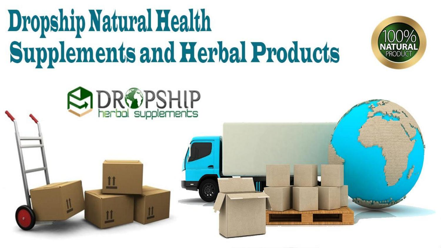 Health And Vitamin Supplements Dropshippers