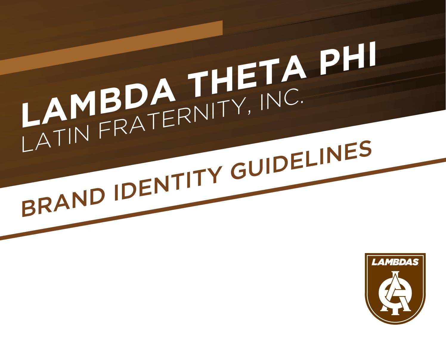 Lambda Theta Phi Branding Guidelines By Executive Director Issuu