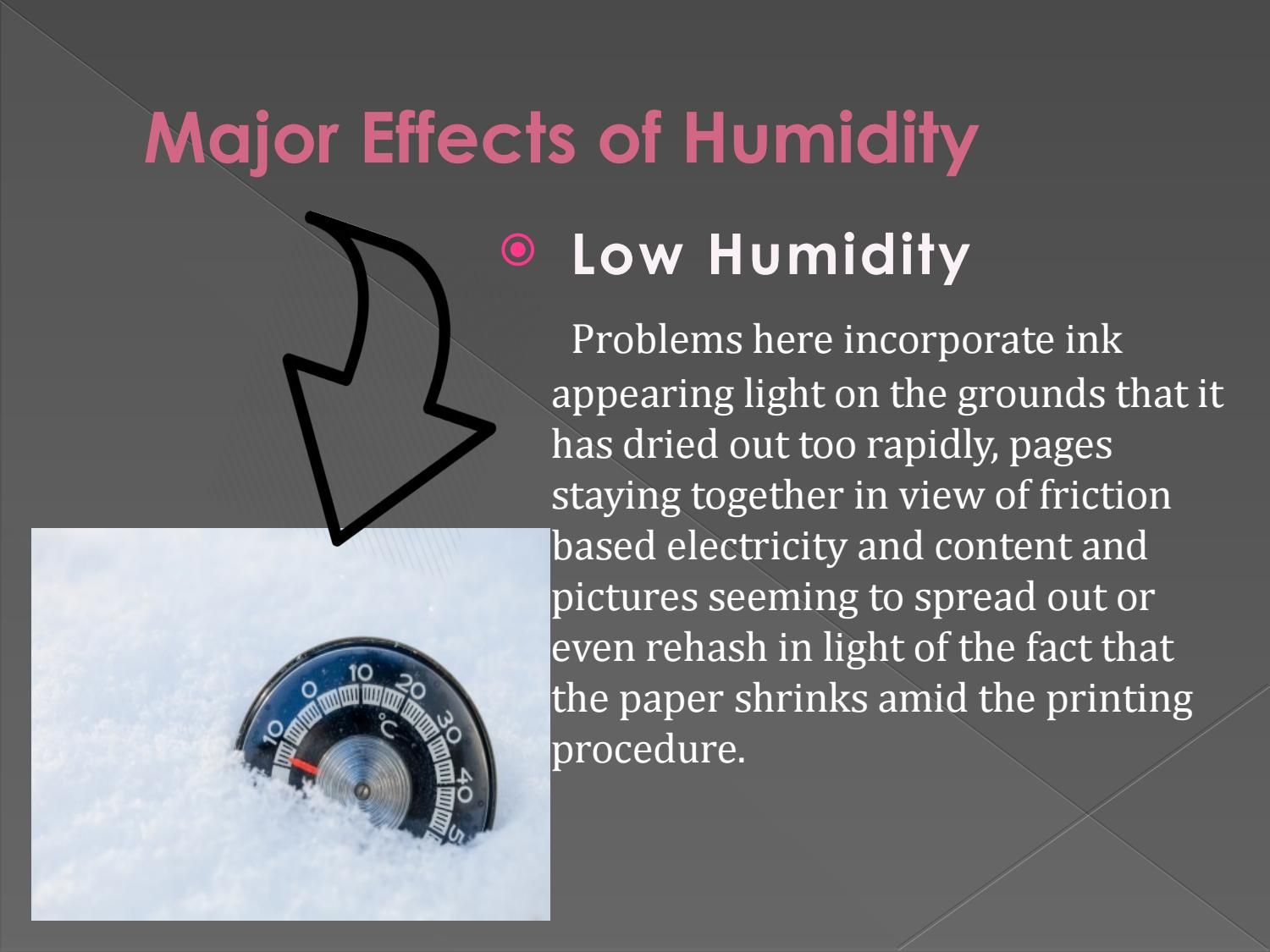how to avoid humidity in dressers