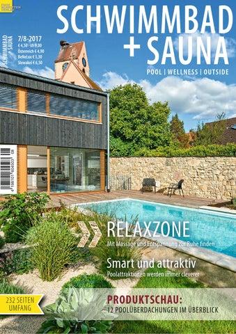 schwimmbad sauna 7 8 2017 by fachschriften verlag issuu. Black Bedroom Furniture Sets. Home Design Ideas