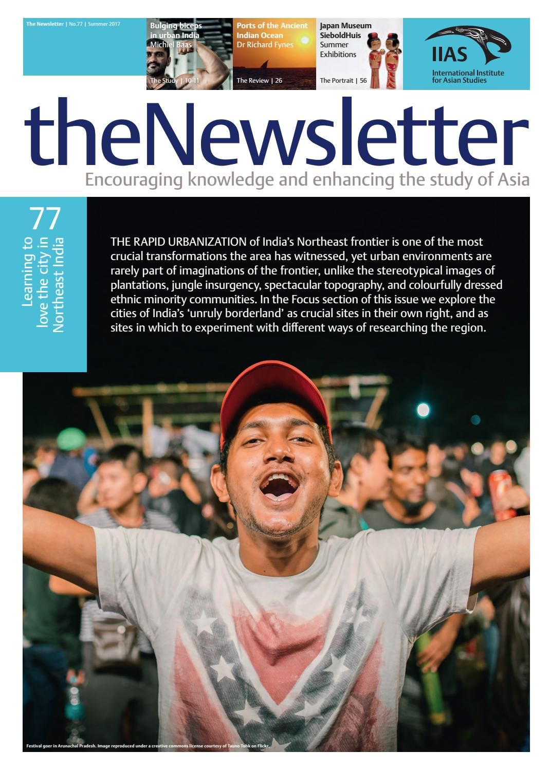The Newsletter 77 Summer 2017 by International Institute for Asian Studies  - issuu