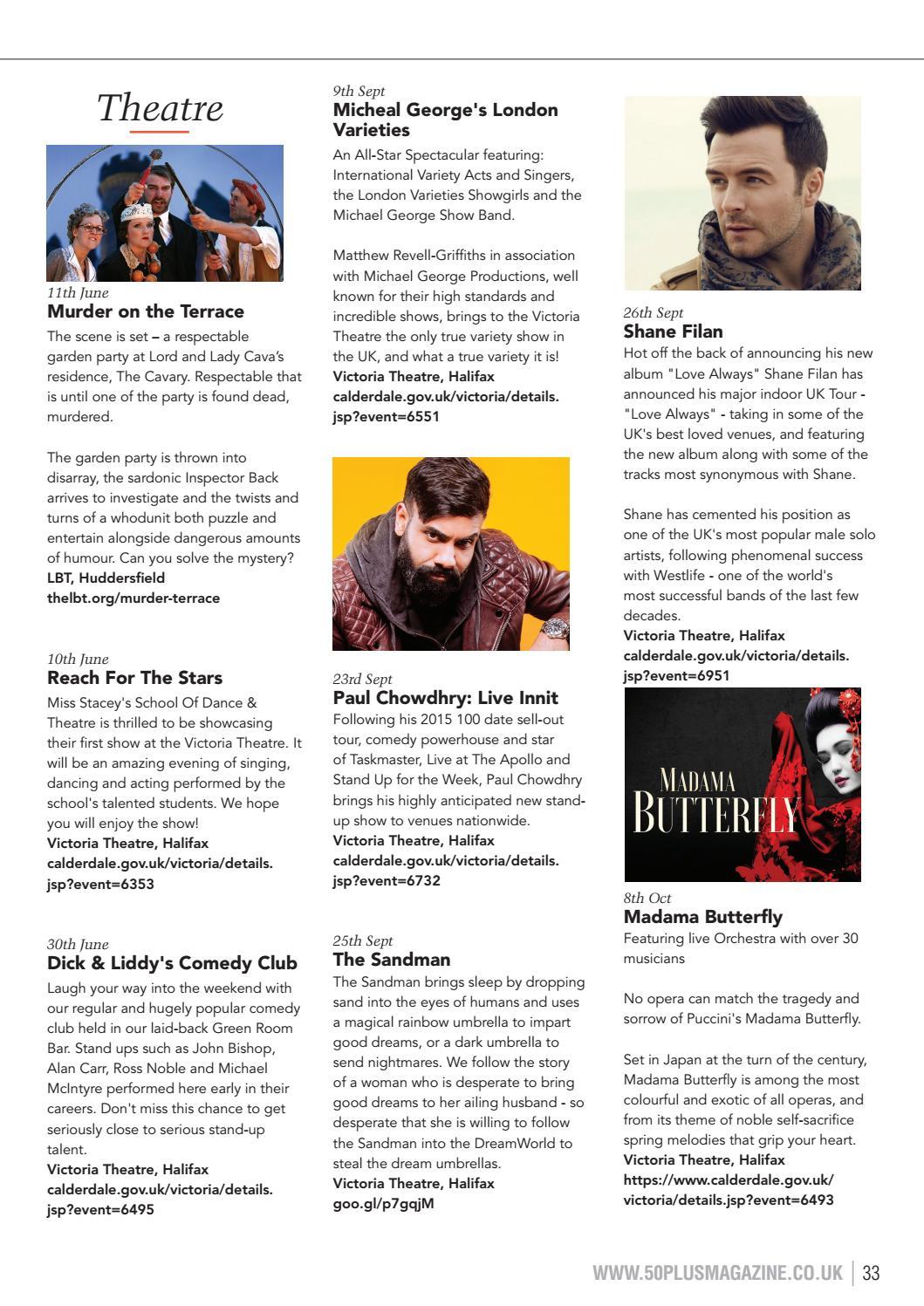 Kirklees & Calderdale issue 53 by 50 Plus Magazine - issuu
