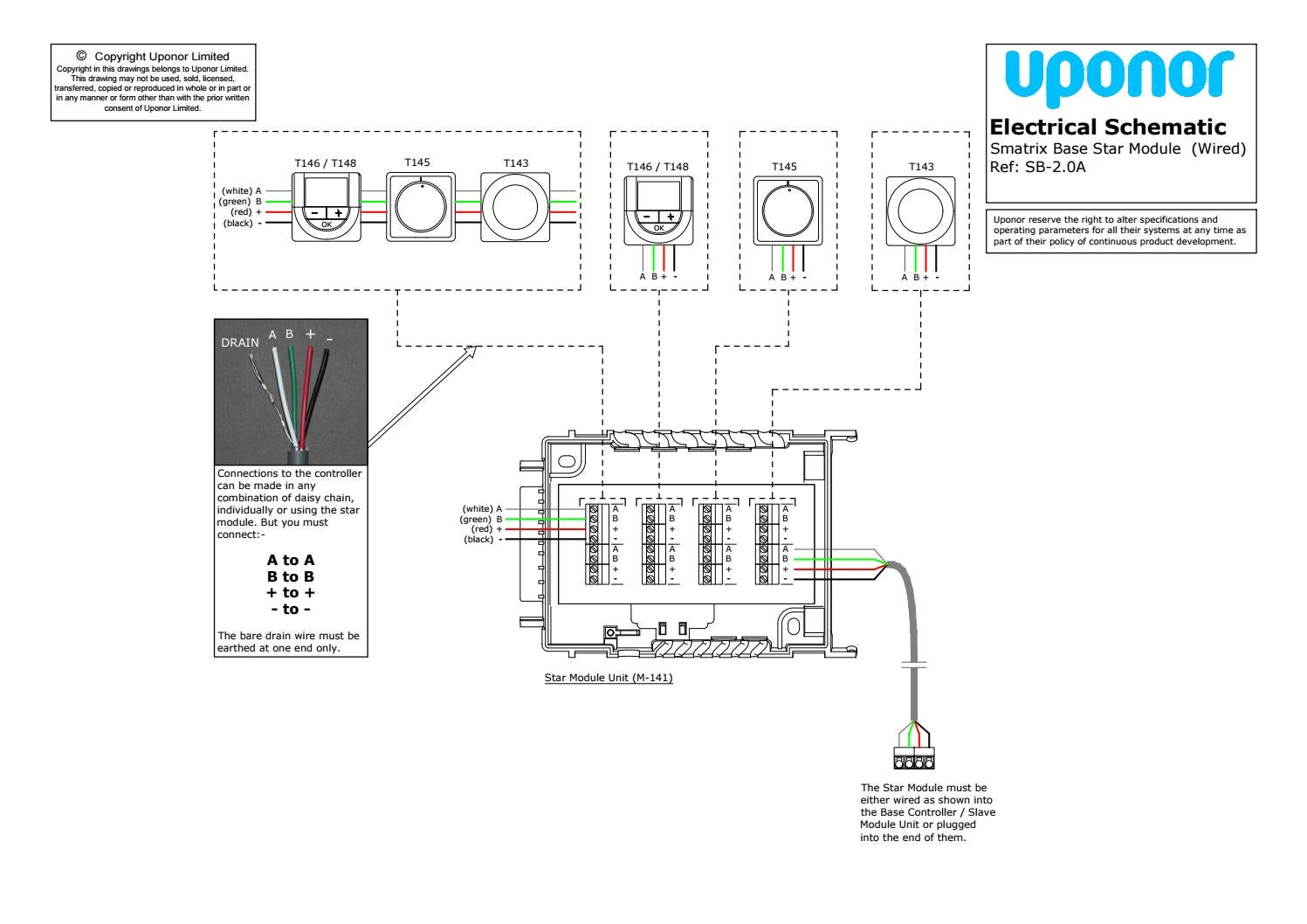 Smatrix Base Star Module By Uponor Uk Issuu Daisy Chain Electrical Schematics Wiring Diagram