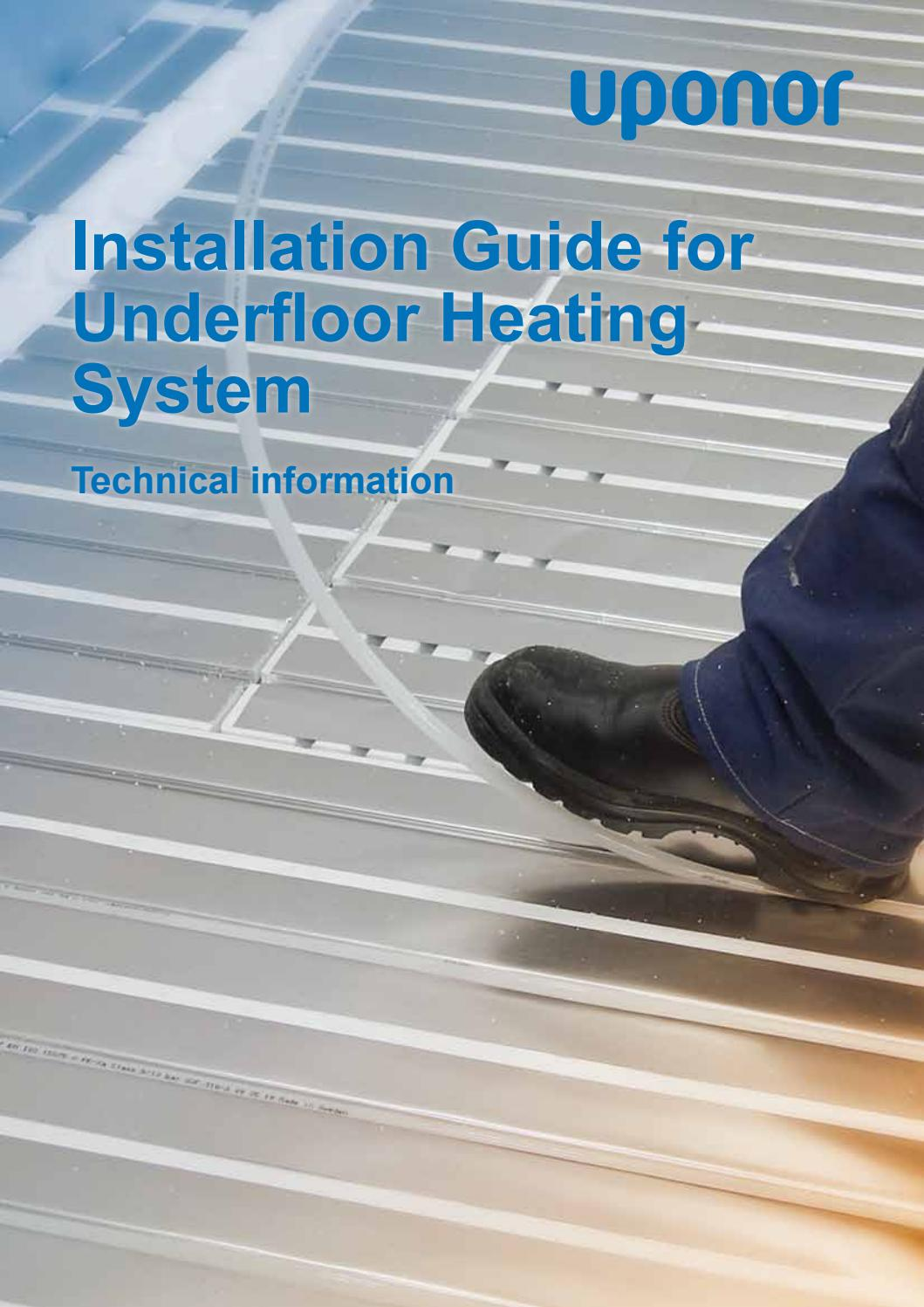 Just a little about the systems underfloor heating 82