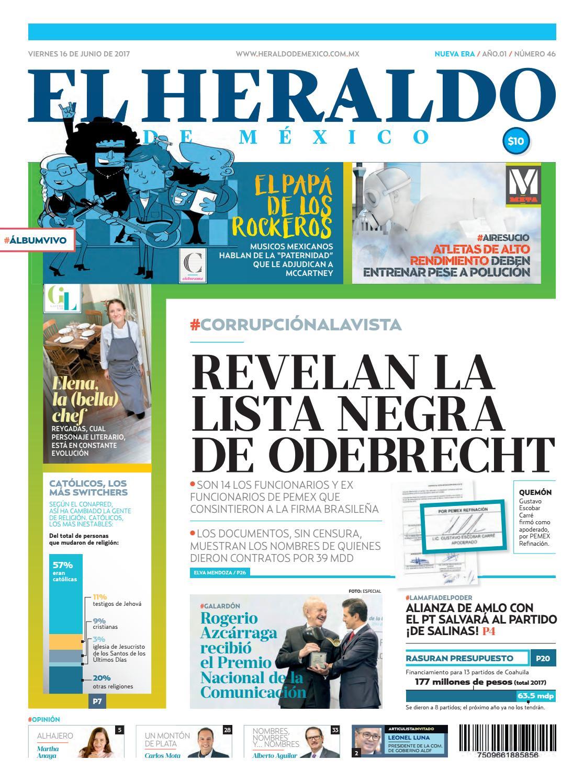 f923097722 El Heraldo de México 16 de Junio 2017 by El Heraldo de México - issuu