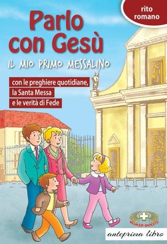 Parlo Con Gesu Romano By Mimep Docete Issuu