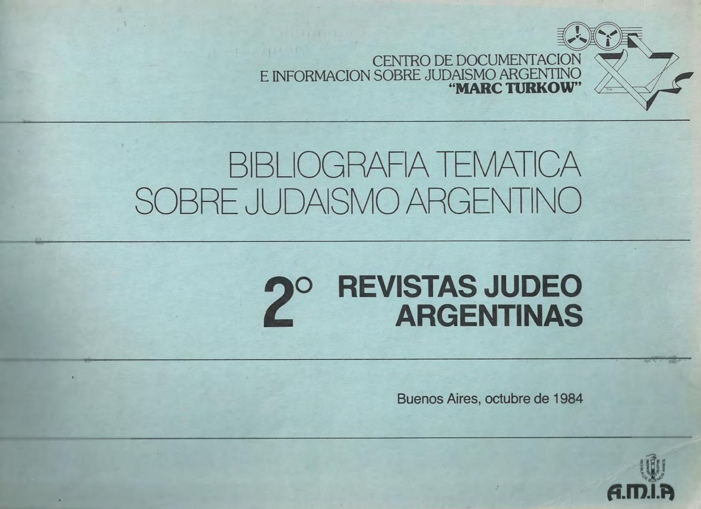 Revistas judeoargentinas by Gabriel Scherman - issuu