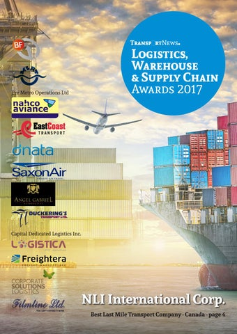 Transport News Logistics, Warehouse & Supply Chain Awards