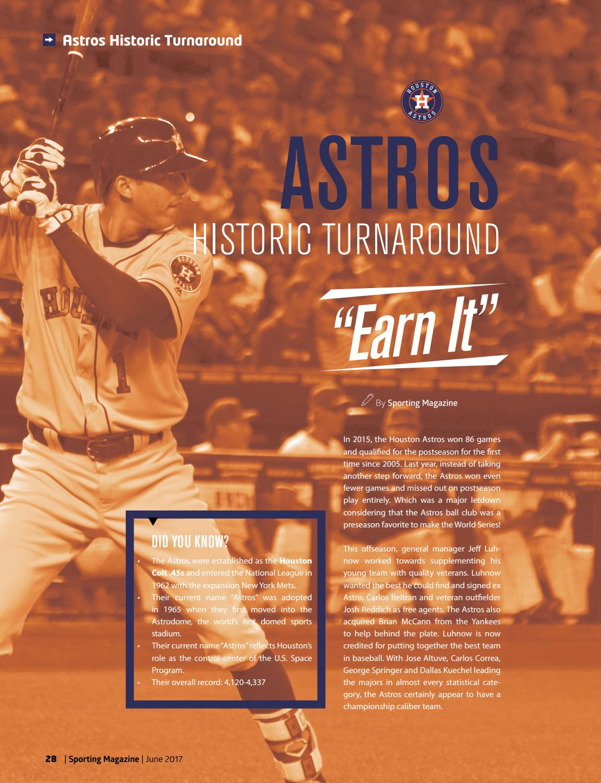 7d171965365 Sporting Magazine Houston June 2017 by Sporting Houston - issuu