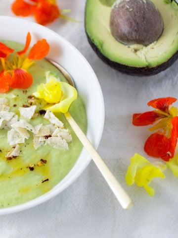 Page 23 of Creamy Cucumber + Avocado Soup