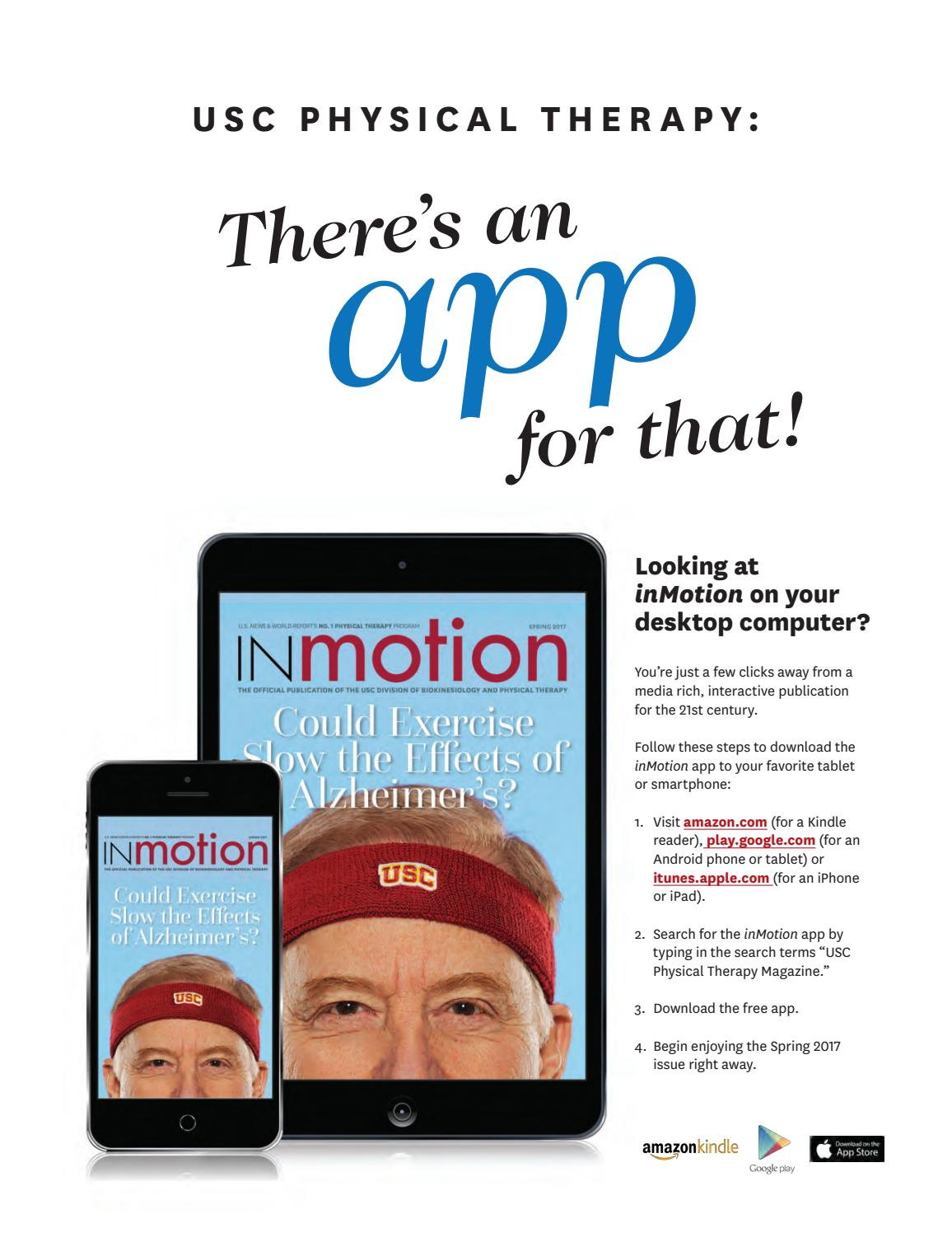 inMotion Spring 2017 by Herman Ostrow School of Dentistry of USC - issuu