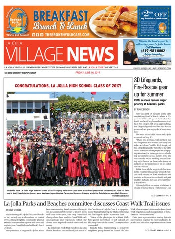 La Jolla Village News, June 16th, 2017 by San Diego