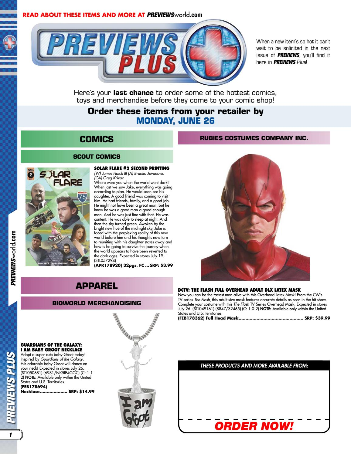 Previews Plus 6/20/17 by PREVIEWS - issuu
