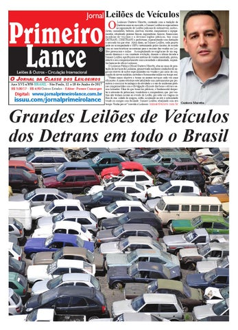 Jornal Primeiro Lance Edição 858 by Jornal Primeiro Lance
