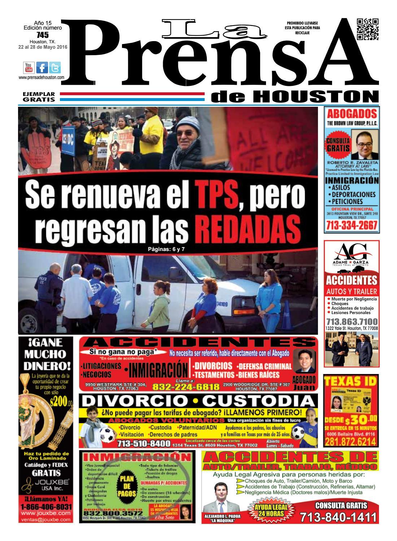 Edicion745 by La Prensa de Houston - issuu