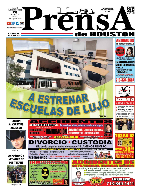 Edicion758 by La Prensa de Houston - issuu