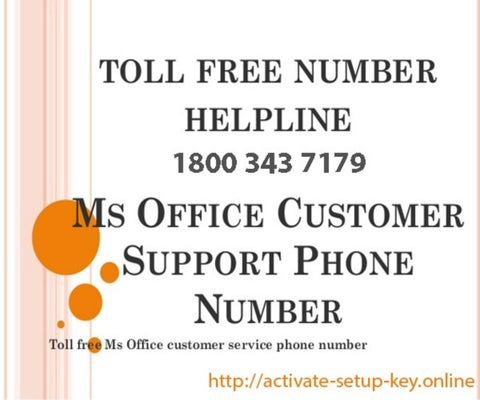 microsoft office product key activation toll free number