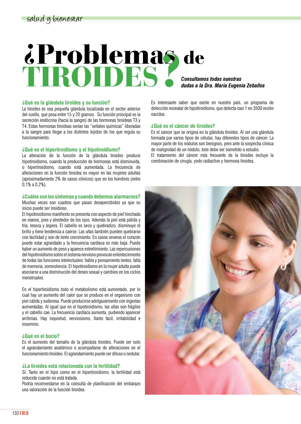 problemas de tiroides en mujeres adultas