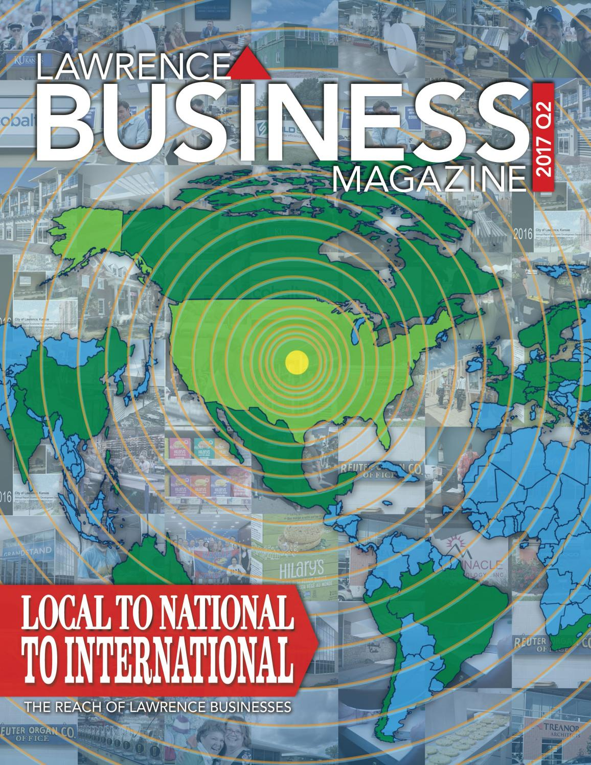 Lawrence Business Magazine 2017 Q2 by Lawrence Business