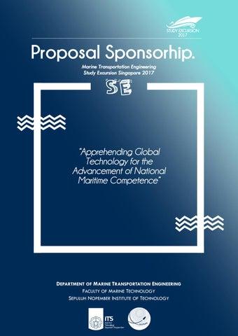 study excursion 2017 proposal sponsorhip