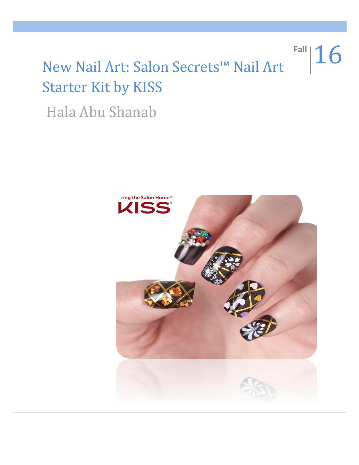 Brand Management: New nail art, Kiss by Hala Abu shanab - issuu