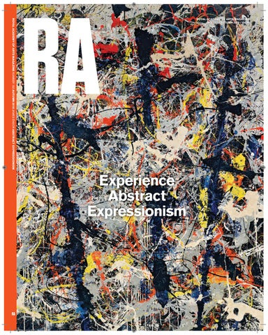 ROYAL ACADEMY OF ARTS MAGAZINE NUMBER 132 AUTUMN 2016 JAMES ENSOR ABSTRACT  EXPRESSIONISM