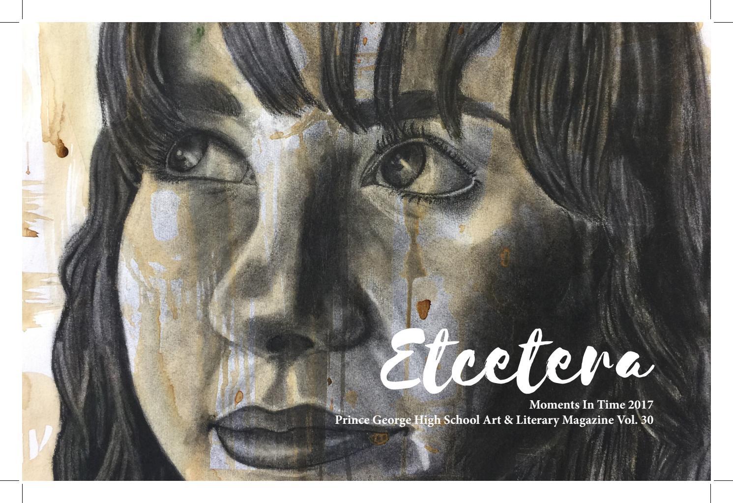 Etcetera Art & Literary Magazine 2017 by chris waugaman - issuu